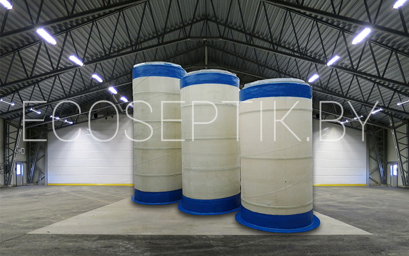 Цены на колодец для воды из стеклопластика